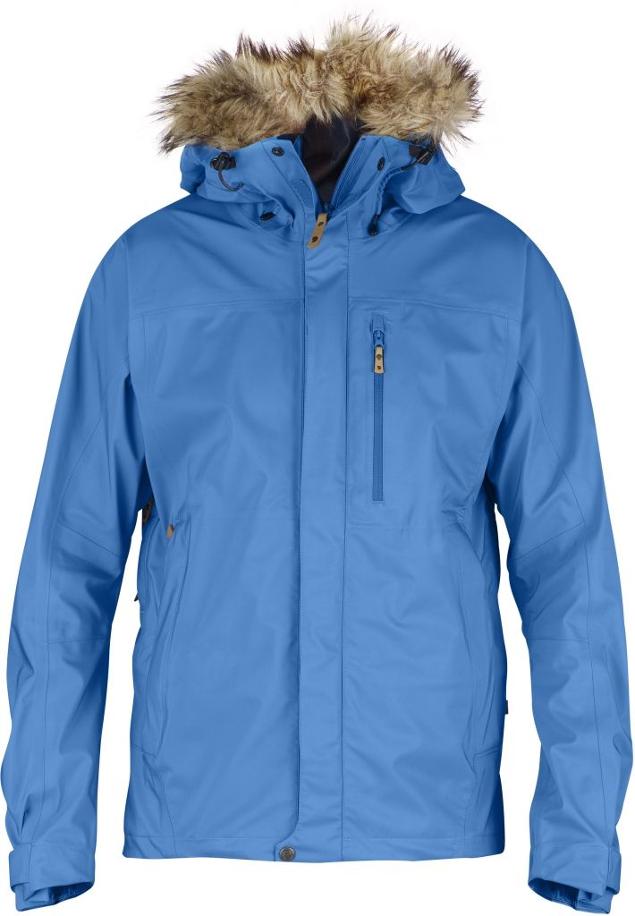 FjallRaven Eco-Tour Jacket UN Blue-30