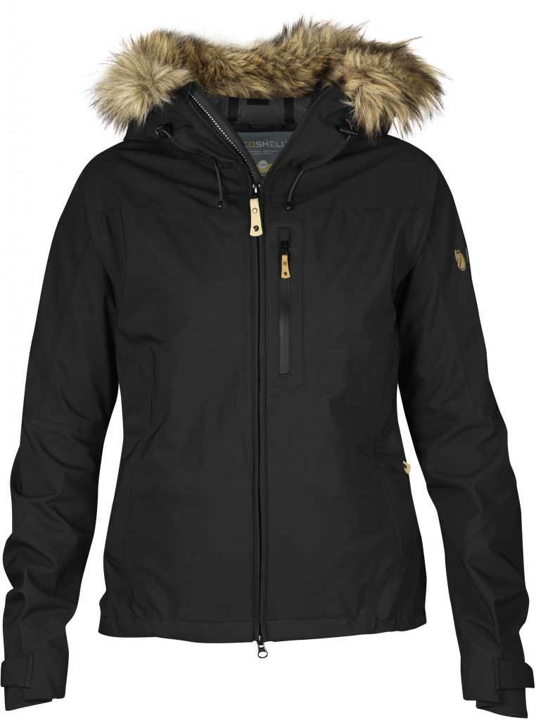 FjallRaven Eco-Tour Jacket W. Black-30