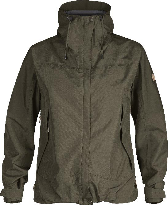 FjallRaven Eco-Trail Jacket Women Tarmac-30