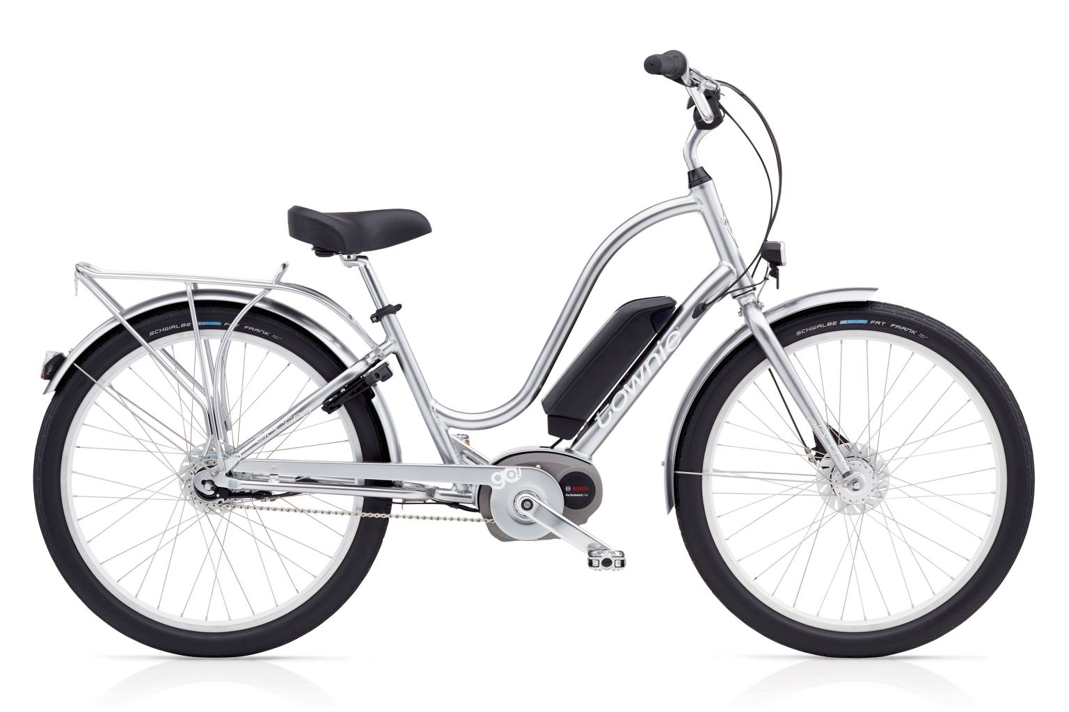 Electra Townie Go! 8i Ladies Polished Silver-30