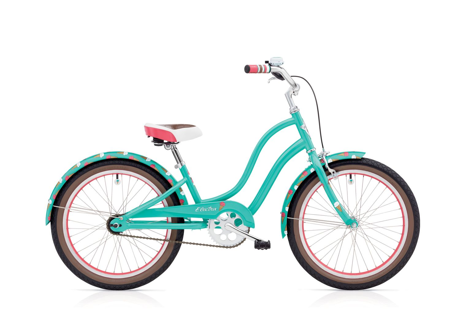 Electra Sweet Ride 3I 20IN Girls Teal-30