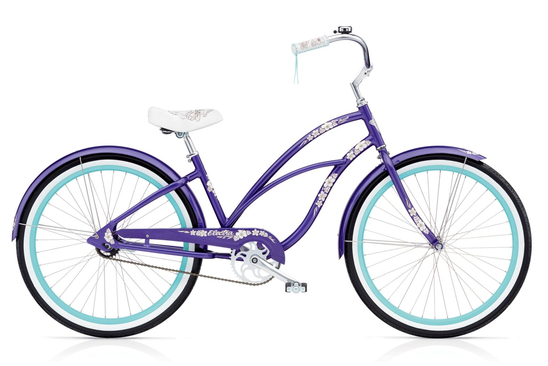 Electra Hawaii 3i Ladies Purple Metallic-30