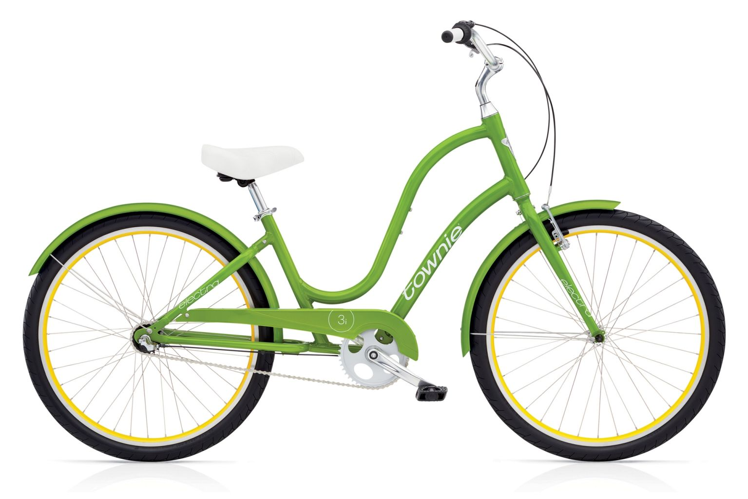 Electra Townie Original 3i Ladies Leaf Green-30
