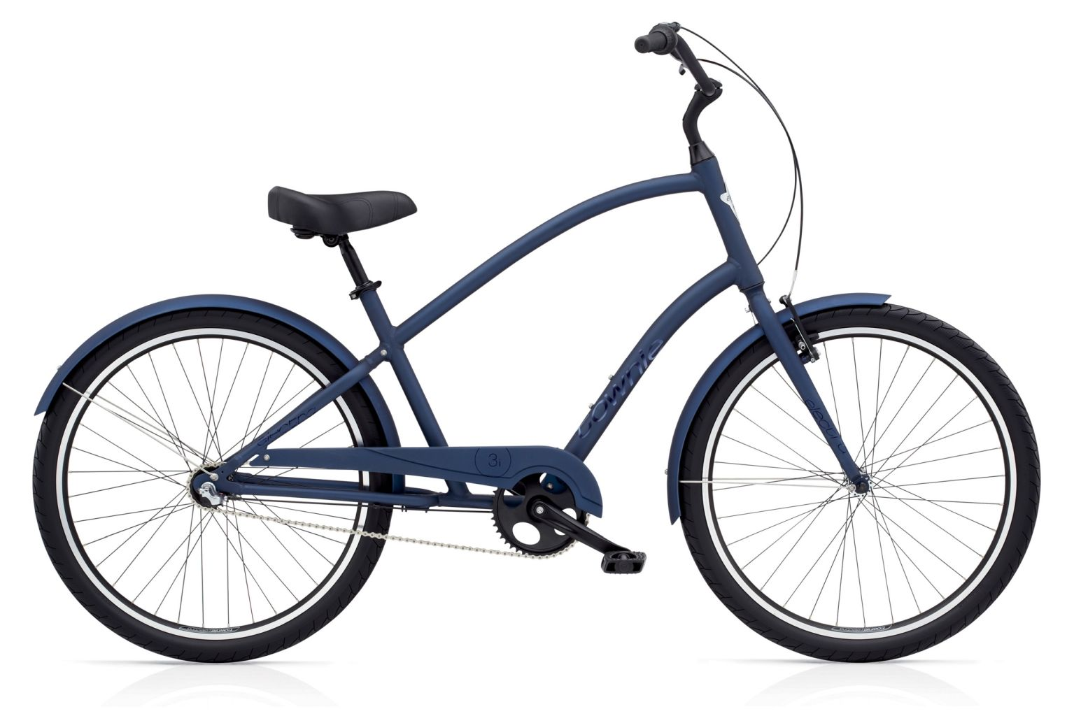 Electra Townie Original 3i Mens Satin Midnight Blue-30