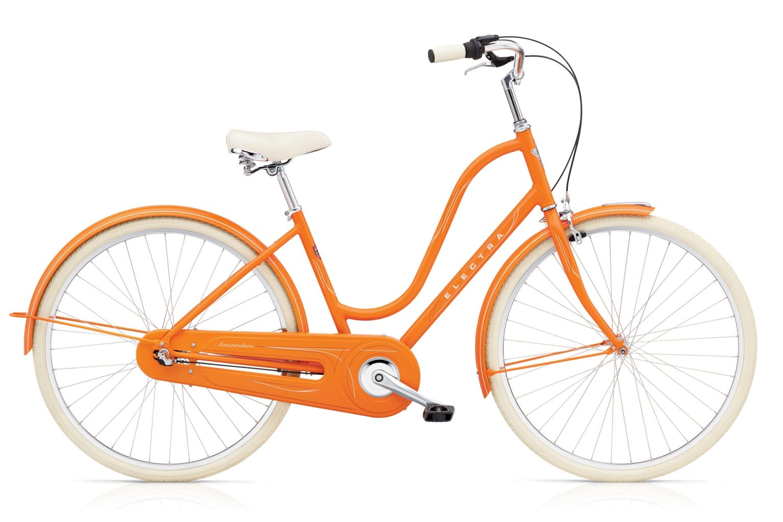 Electra Amsterdam Orig 3i Ladies Orange-30