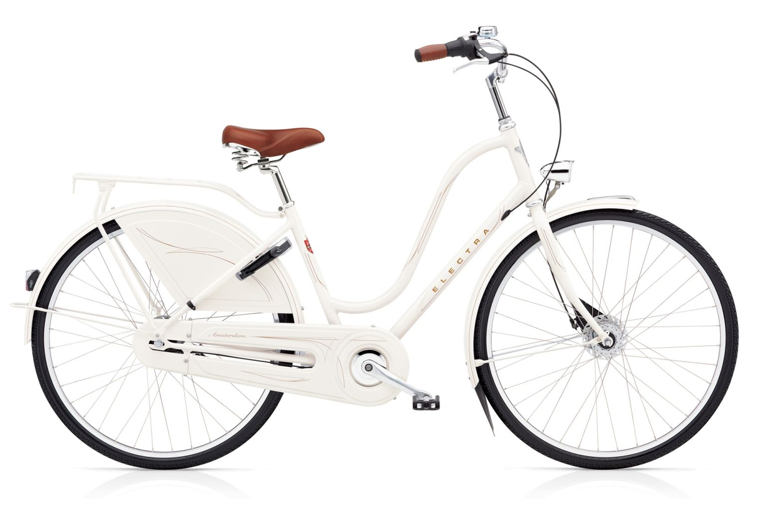 Electra Amsterdam Royal 8i Ladies Pearl White-30