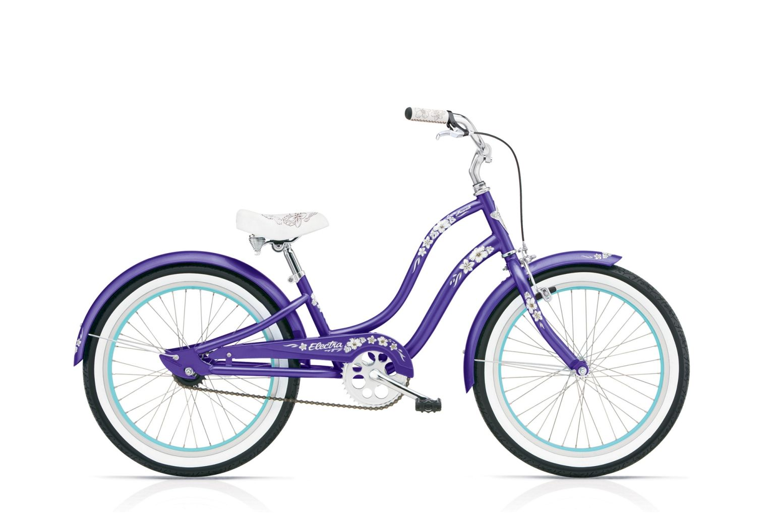 Electra Hawaii 1 20in Girl's Purple Metallic-30