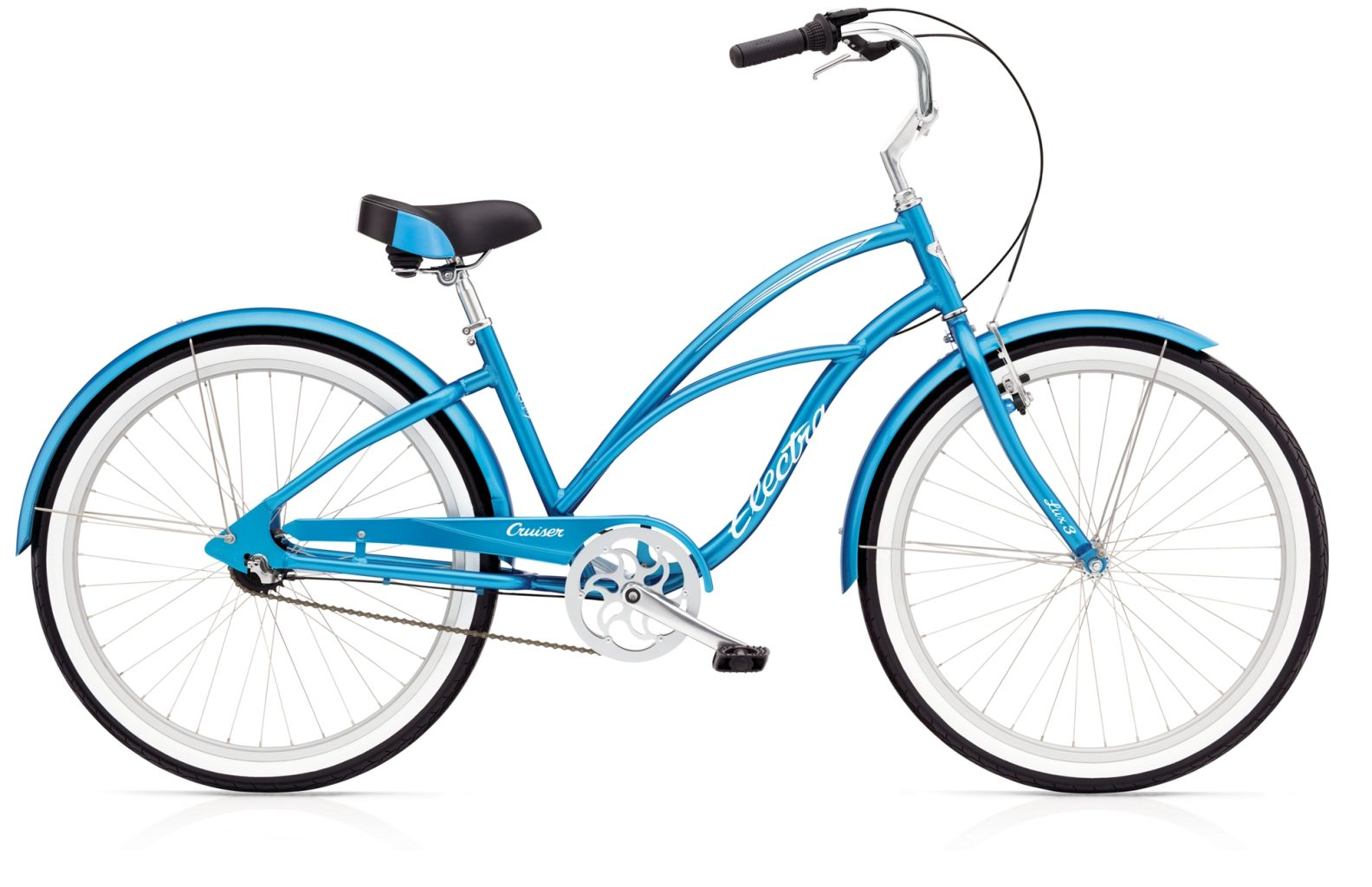 Electra Cruiser Lux 3i Ladies Blue-30