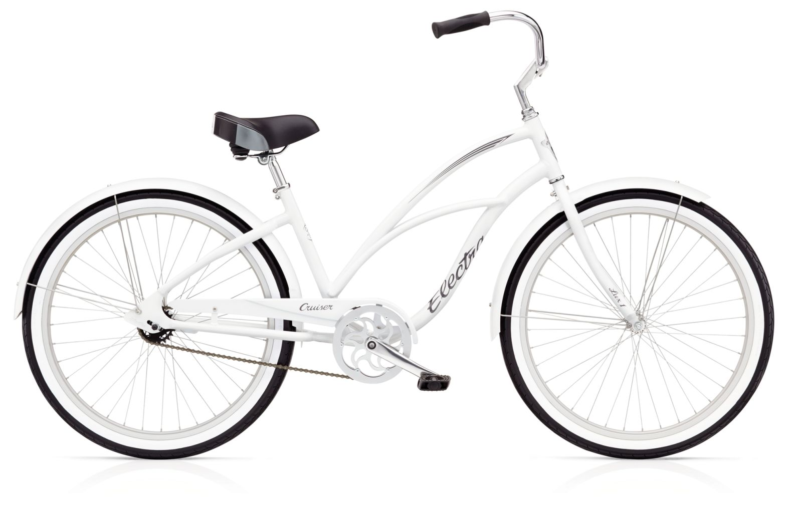 Electra Cruiser Lux 1 Ladies White-30