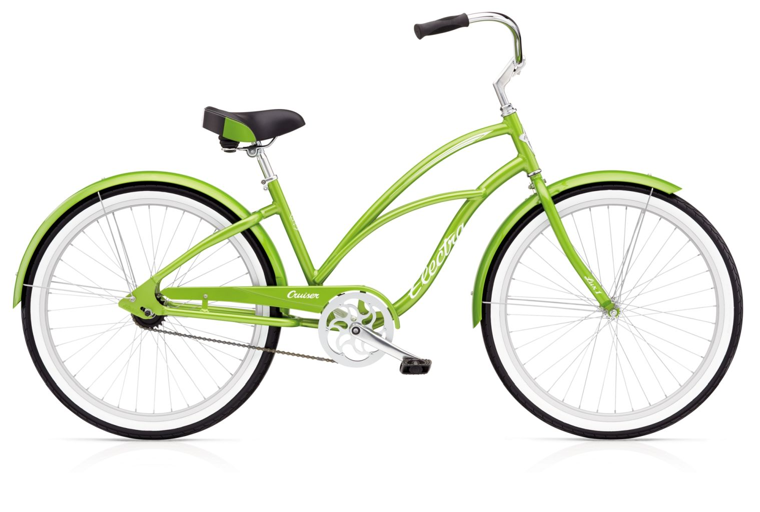 Electra Cruiser Lux 1 Ladies Green Metallic-30