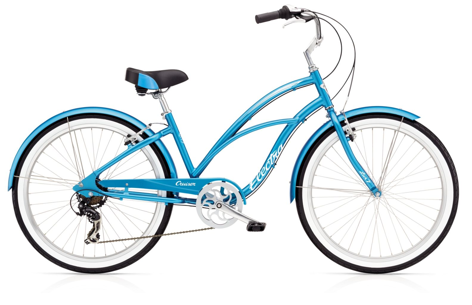 Electra Cruiser Lux 7D Ladies Blue-30
