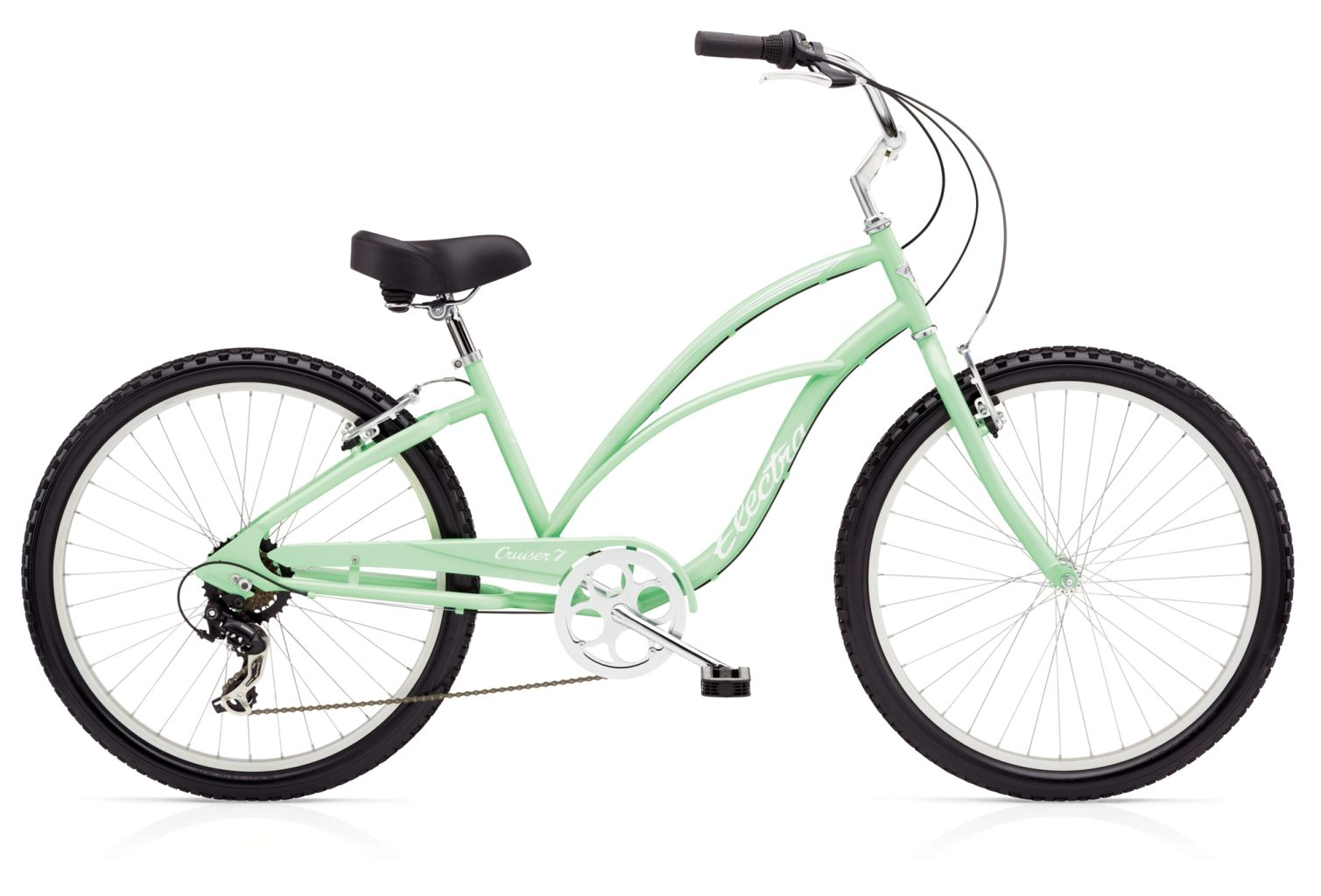 Electra Cruiser 7D 24in Ladies Seafoam-30
