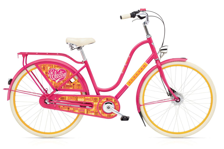 Electra Amsterdam Joyride 3i Ladies Joyride/Bright Pink-30