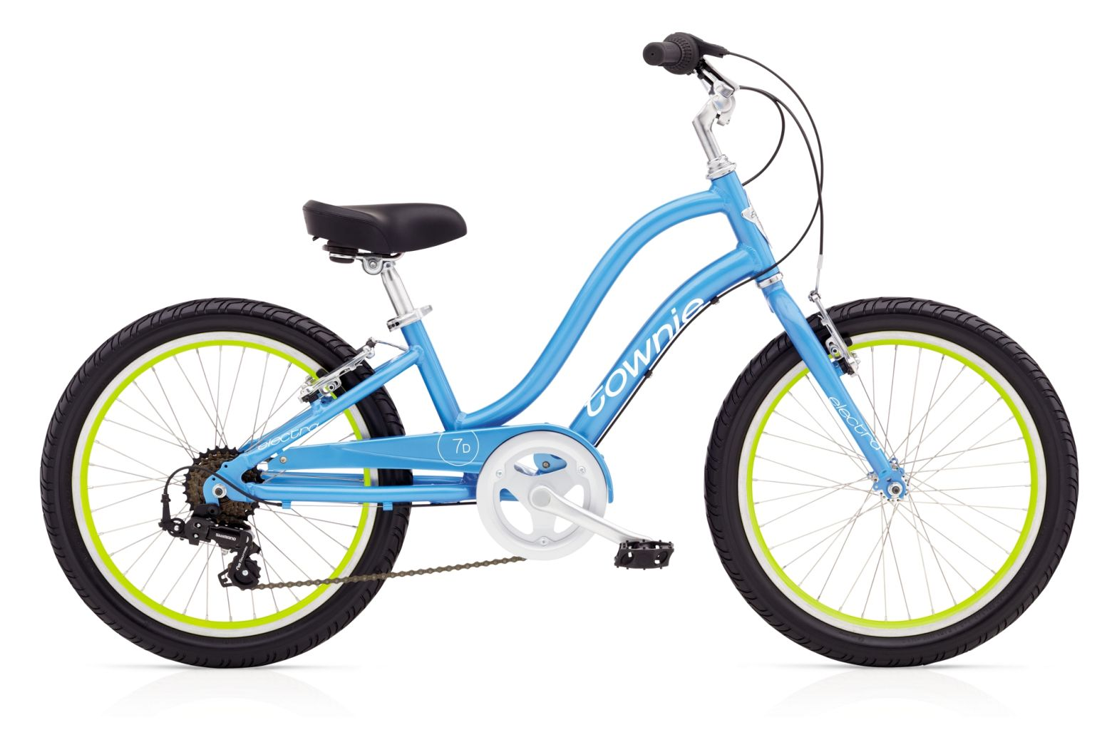 Electra Townie 7D 20in Girls Blue Topaz-30