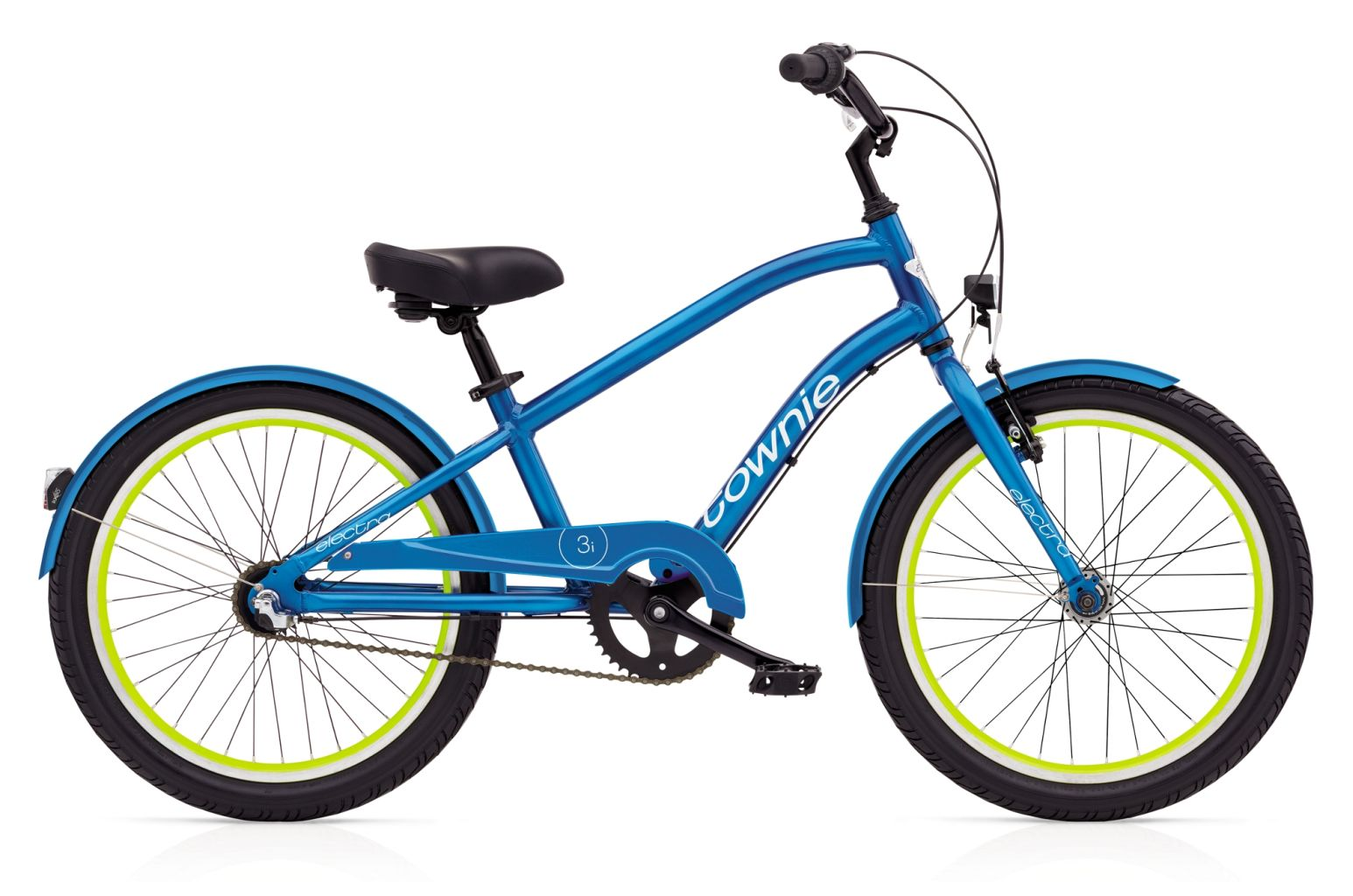 Electra Townie 3i EQ 20in Boys Electric Blue-30