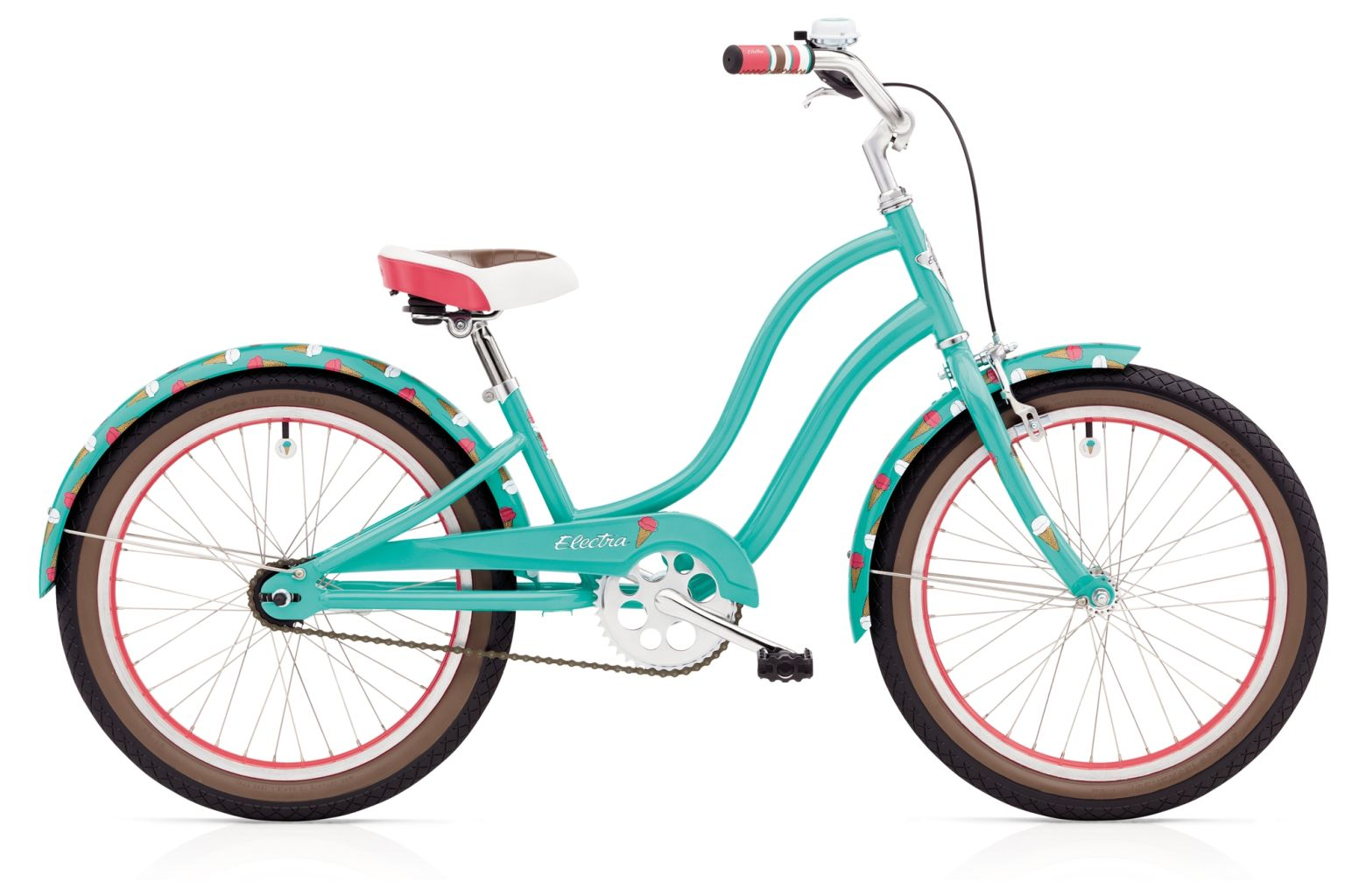 Electra Sweet Ride 1 20IN Girls 20 Teal-30