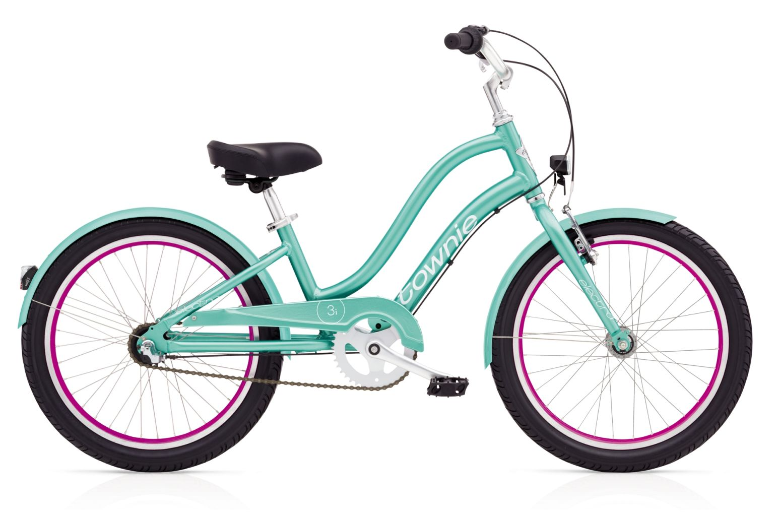 Electra Townie 3i EQ 20in Girls Emerald-30