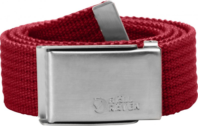 FjallRaven Merano Canvasbelt Deep Red-30
