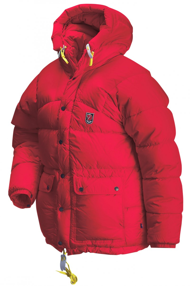 FjallRaven Expedition Down Jacket Red-30