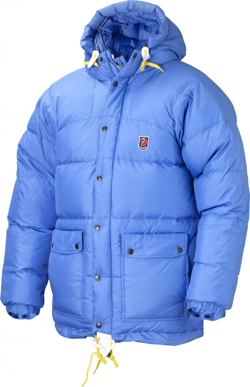 FjallRaven Expedition Down Jacket Ice Blue-30