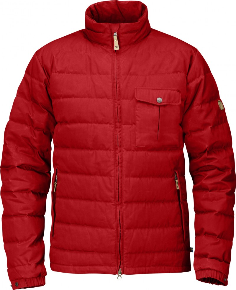 FjallRaven Övik Lite Jacket Red-30