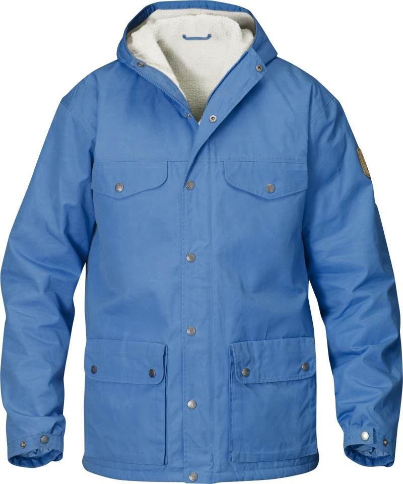 FjallRaven Greenland Winter Jacket UN Blue-30