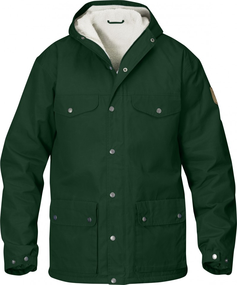 FjallRaven Greenland Winter Jacket Dark Pine-30