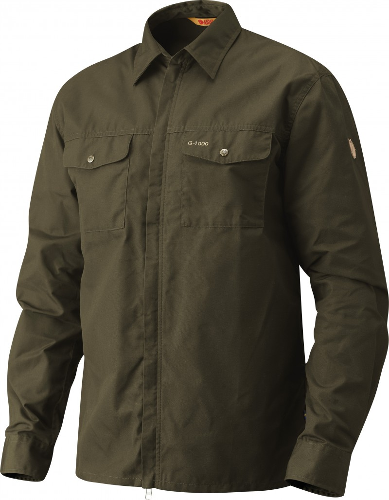 FjallRaven G-1000 Shirt Dark Olive-30