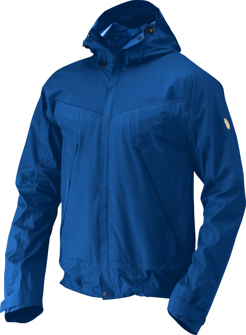 FjallRaven Eco-Trail Jacket Bay Blue-30