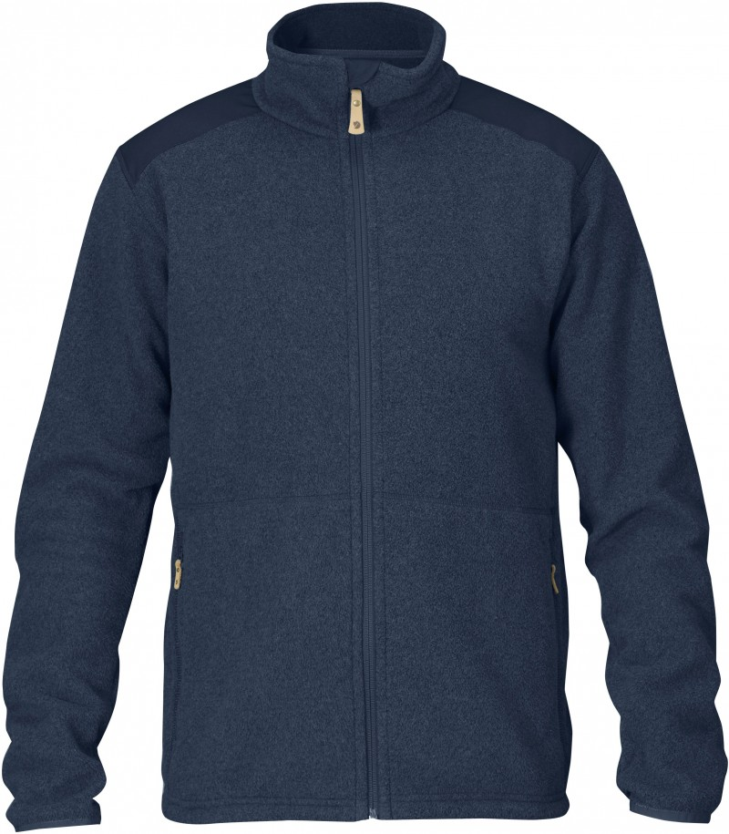 FjallRaven Sten Fleece Dark Navy-30
