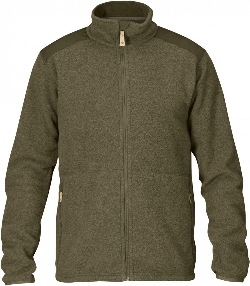 FjallRaven Sten Fleece Dark Olive-30