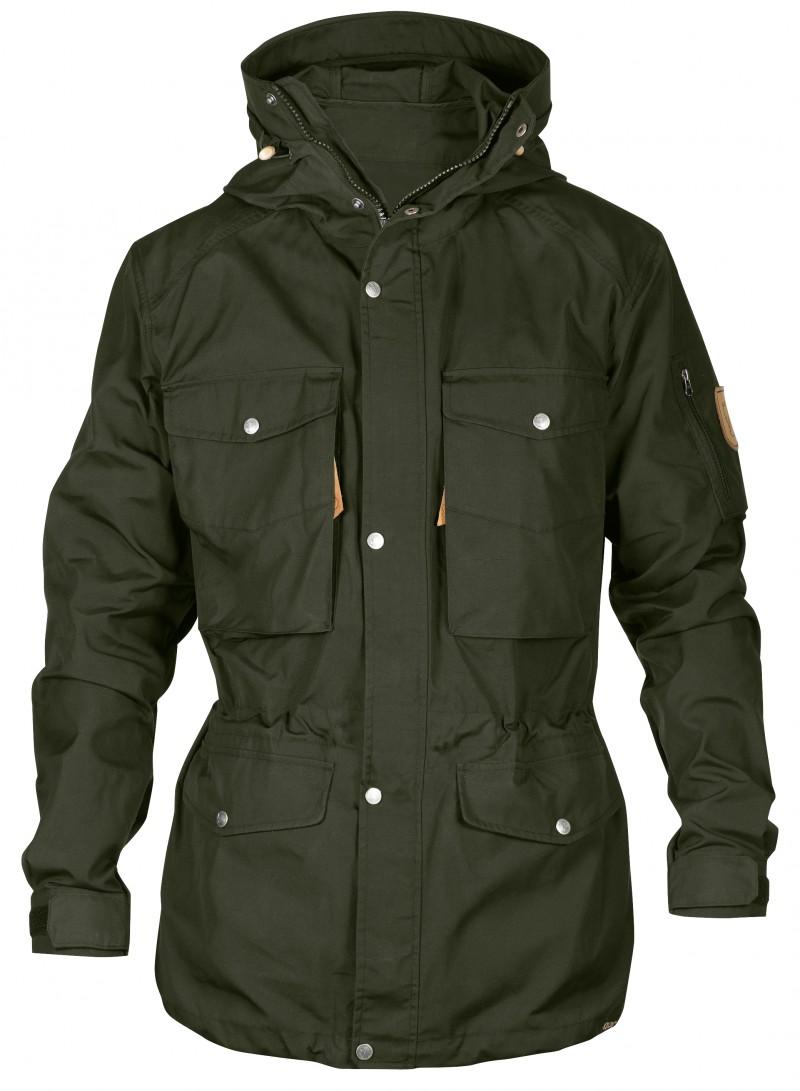FjallRaven Sarek Trekking Jacket Dark Olive-30