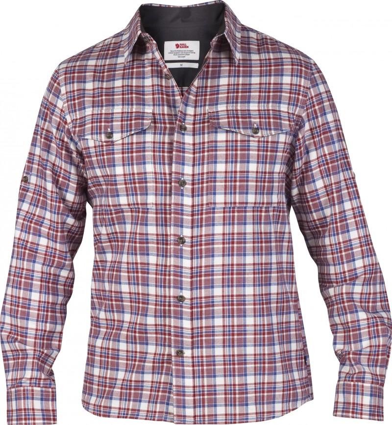 FjallRaven Sarek Flannel Shirt LS Wild Ginger-30