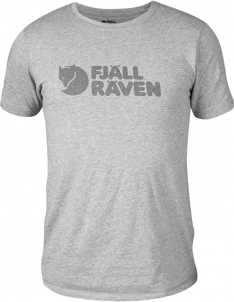 FjallRaven Logo T-shirt Grey-30