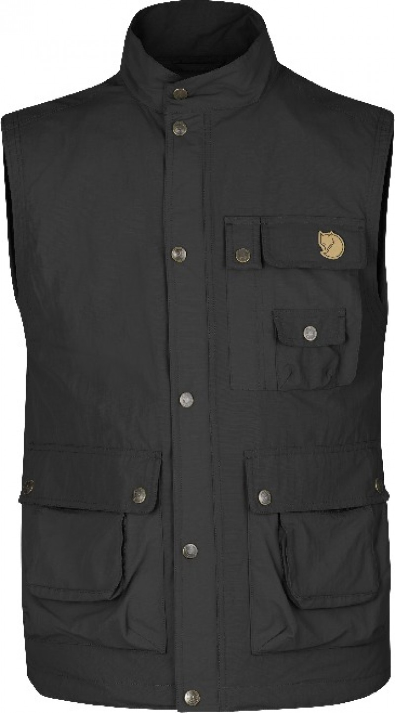 FjallRaven Wild Vest MT Dark Grey-30