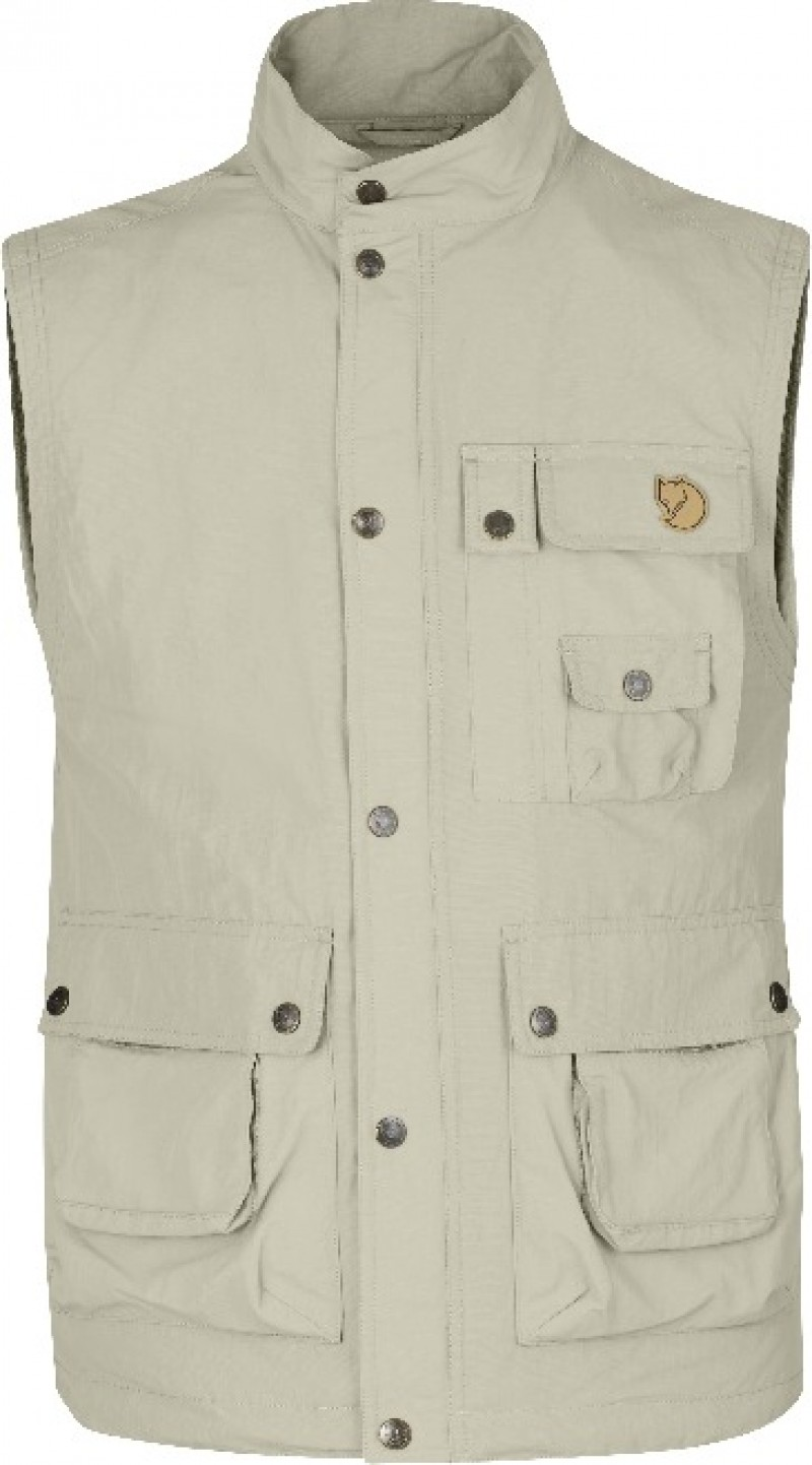 FjallRaven Wild Vest MT Light Beige-30