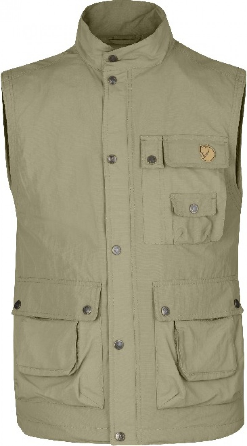 FjallRaven Wild Vest MT Light Khaki-30