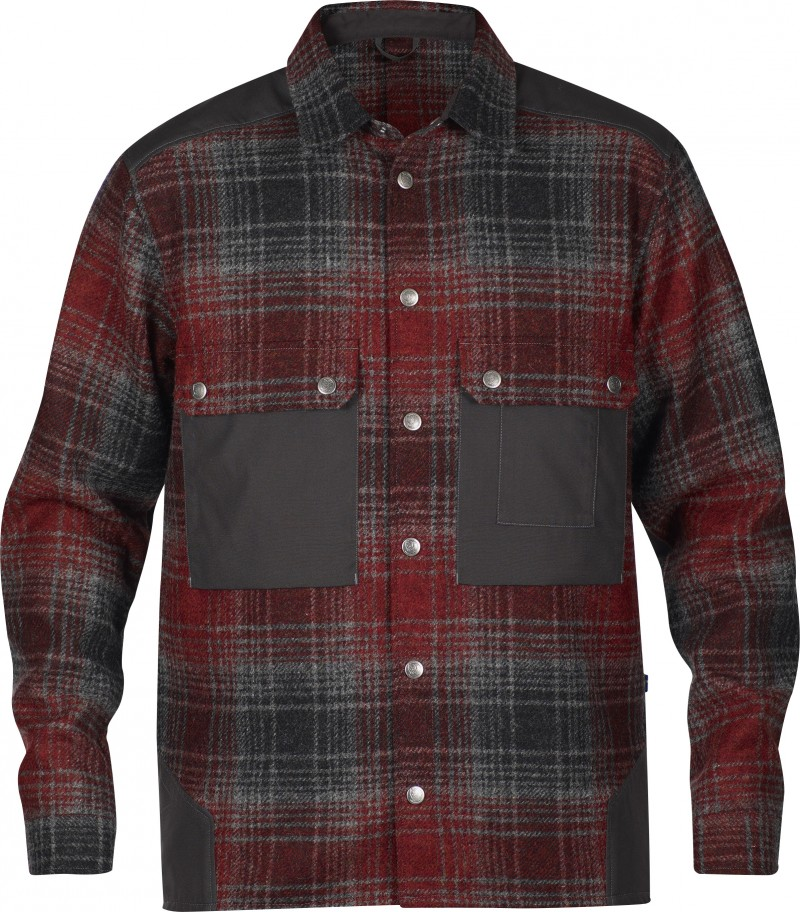 FjallRaven Mountaineering Shirt No.3 Red-30