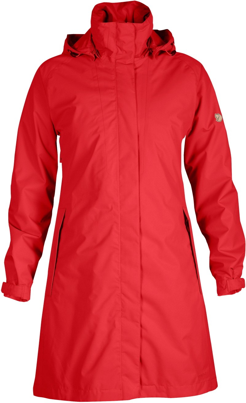 FjallRaven Visby Jacket Red-30