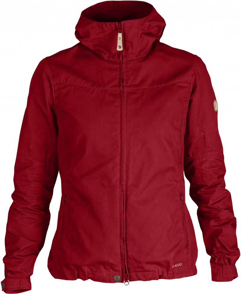 FjallRaven Stina Jacket Deep Red-30