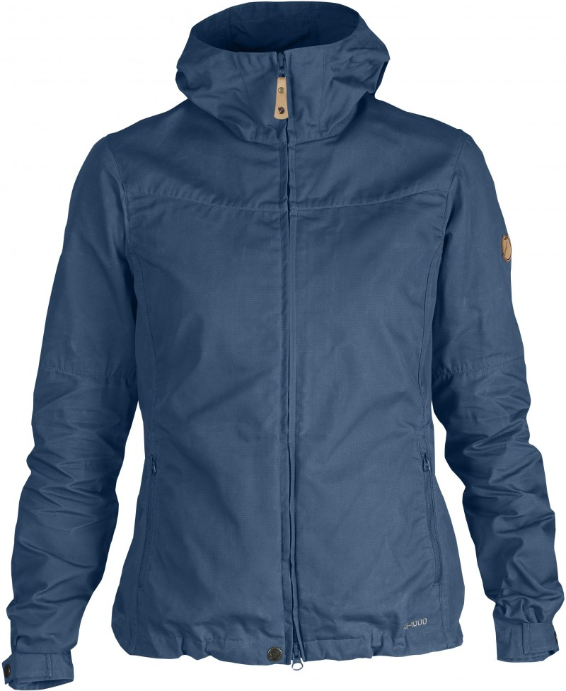 FjallRaven Stina Jacket Uncle Blue-30