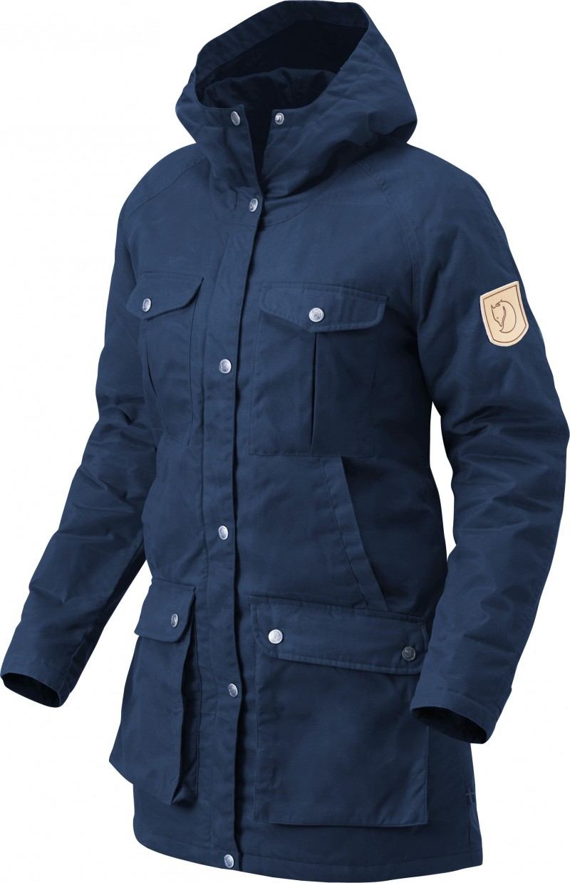 FjallRaven Greenland Parka W. Uncle Blue-30