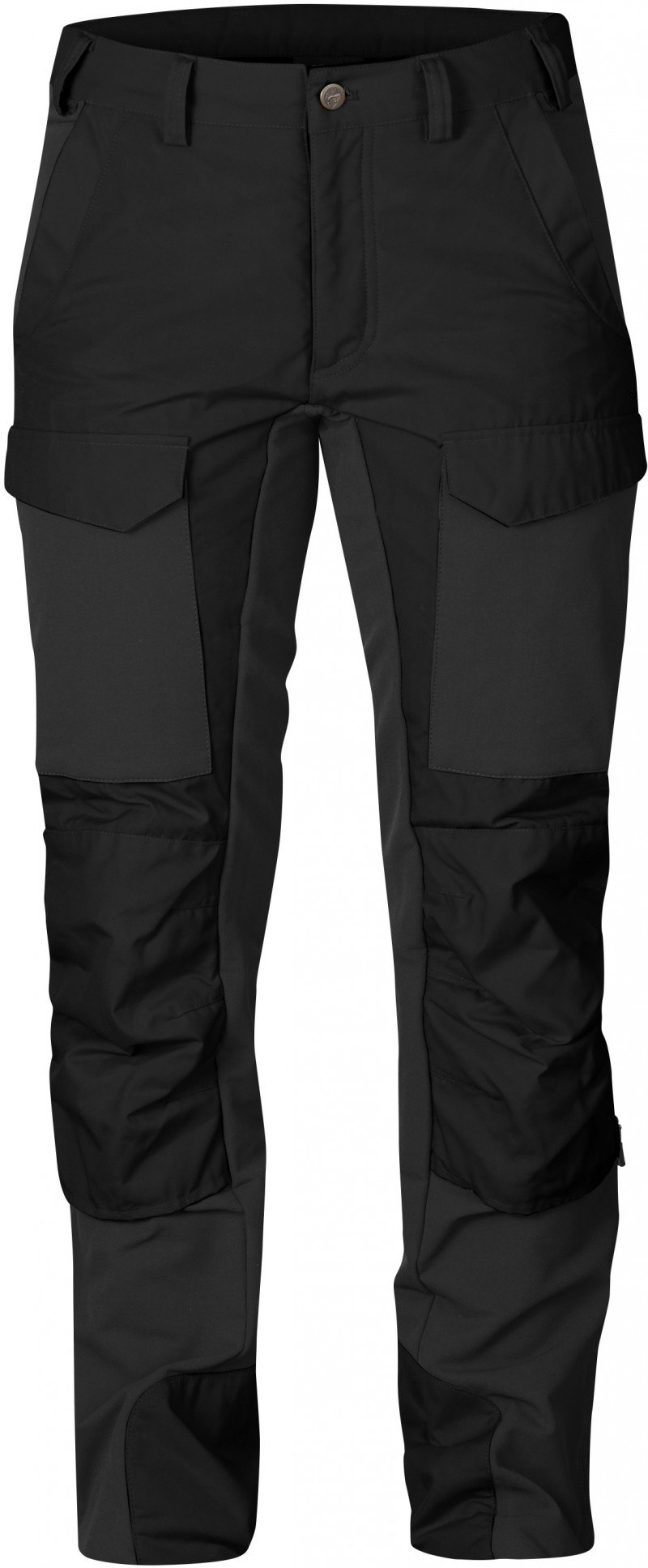 FjallRaven - Skare Trousers W. Black - Softshell Pants - 38