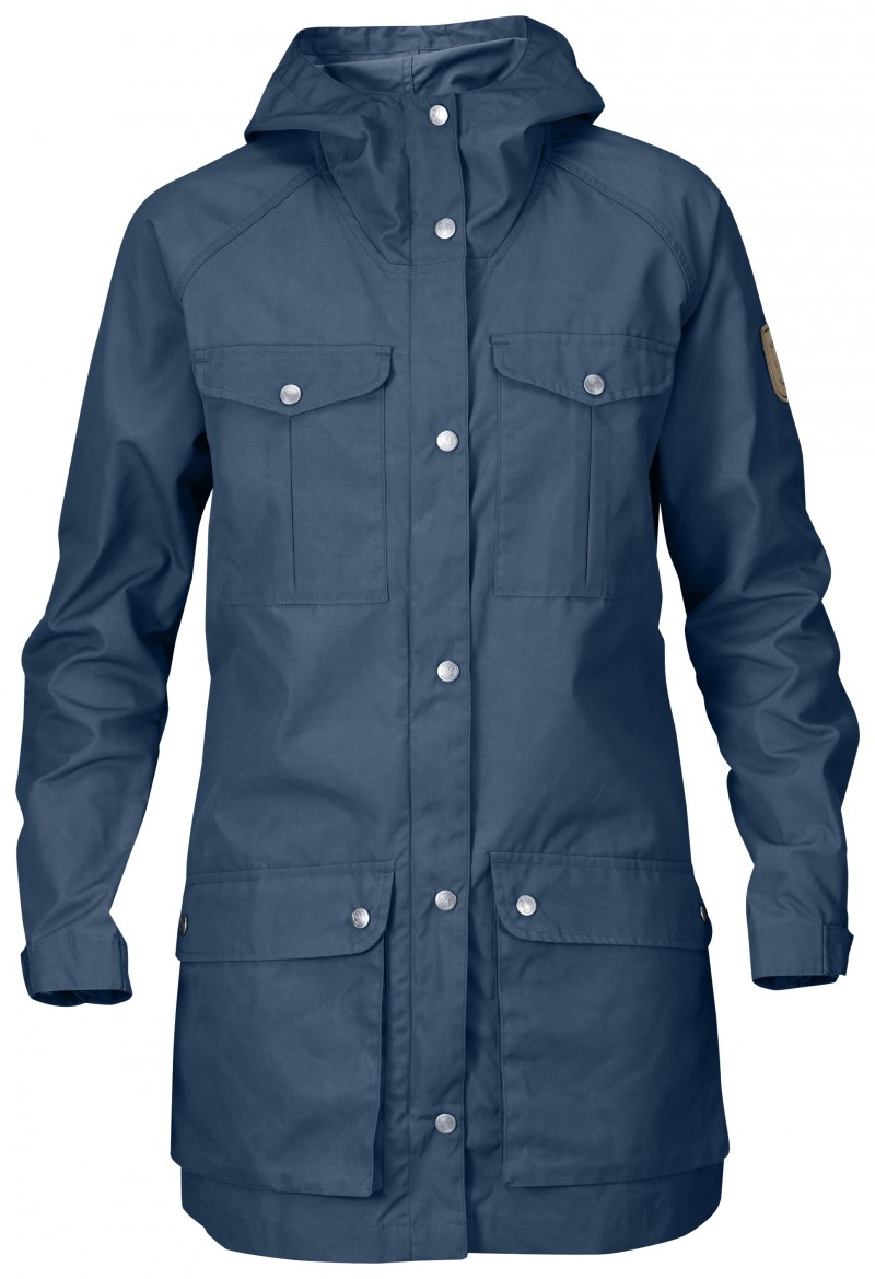 FjallRaven Greenland Parka Light Women Uncle Blue-30