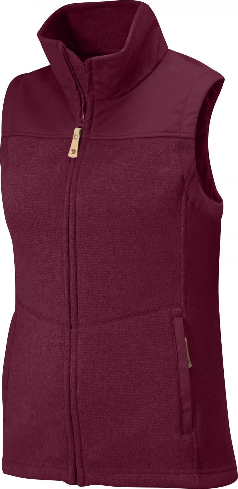 FjallRaven Lule Fleece Vest Ox Red-30