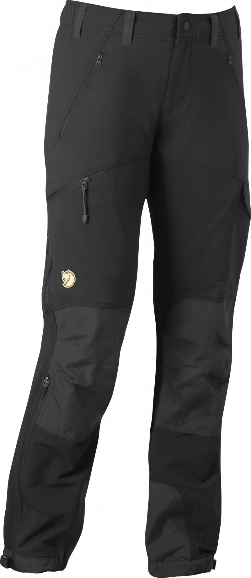 FjallRaven Älv Trousers W. Black-Dk.Grey-30