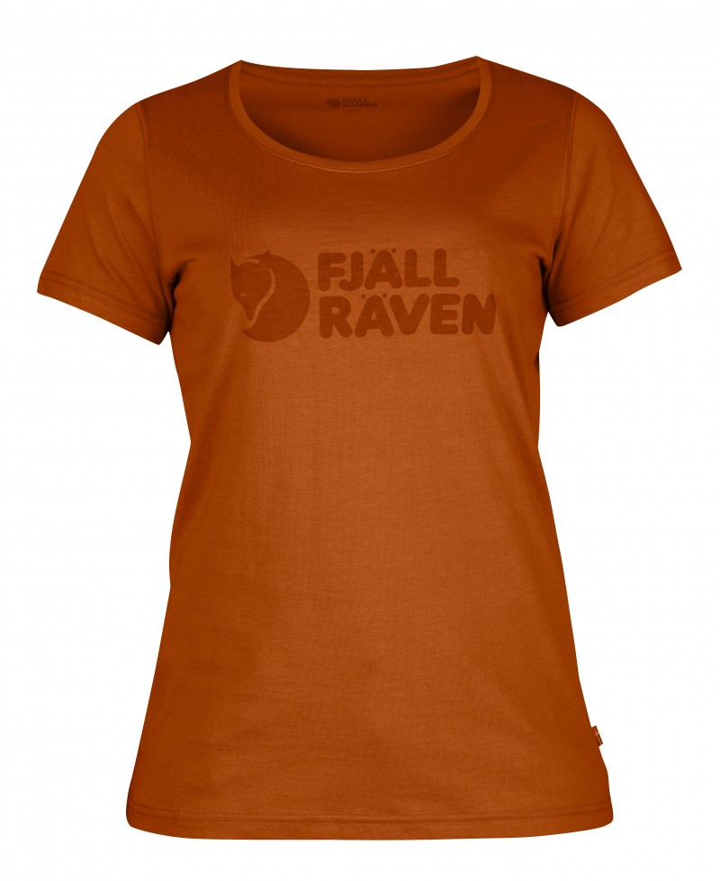FjallRaven - Logo T-Shirt W. Autumn Leaf - T-Shirts - M