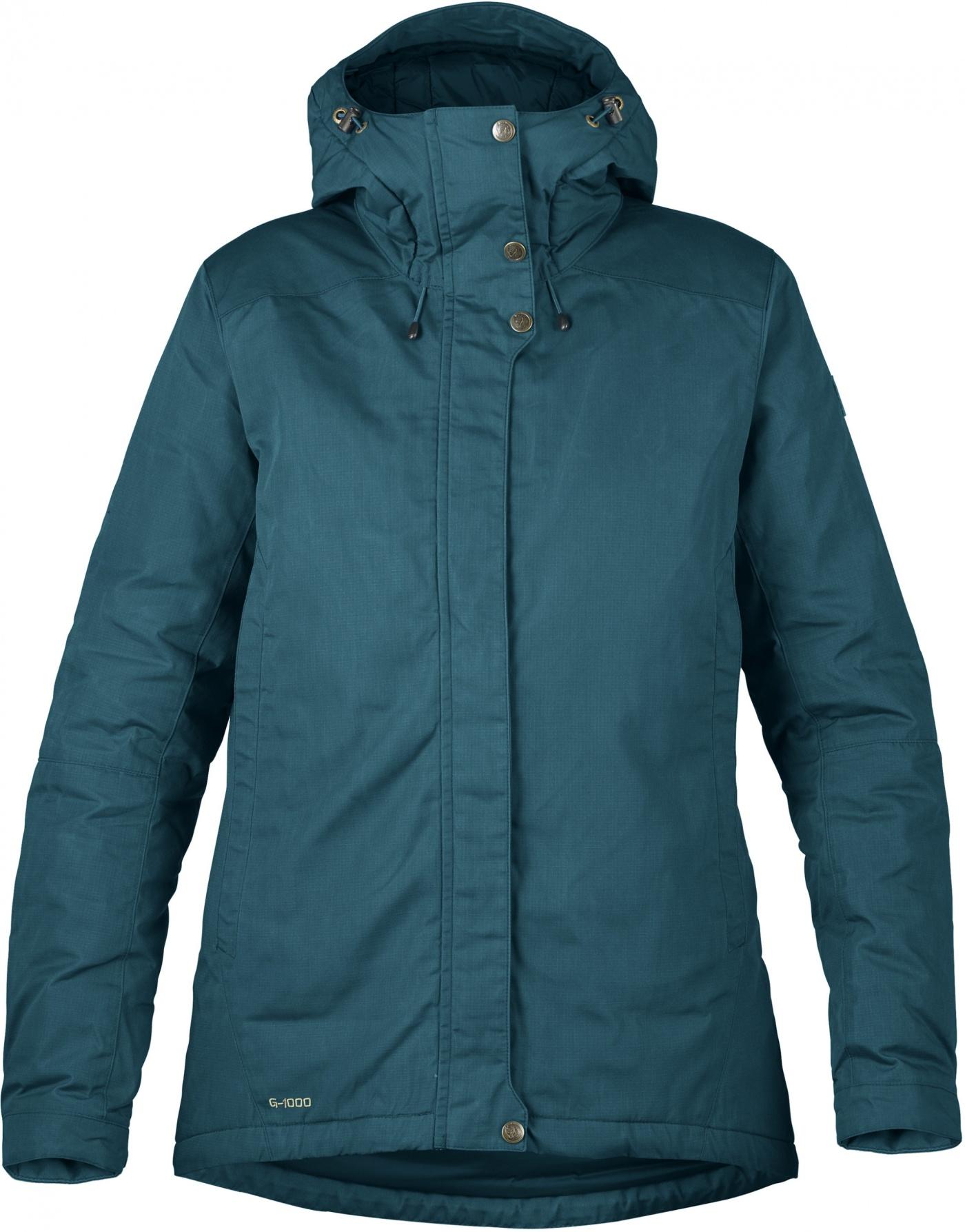 FjallRaven Skogsö Padded Jacket W Glacier Green-30
