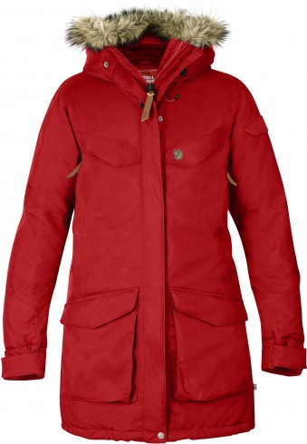 FjallRaven Nuuk Parka Red-30