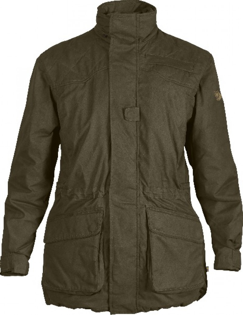 FjallRaven Tula Jacket Women Dark Olive-30